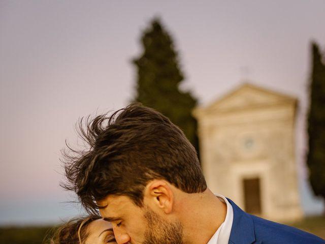 Il matrimonio di Giancarlo e Lorena a Chiusdino, Siena 78
