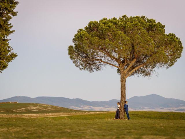 Il matrimonio di Giancarlo e Lorena a Chiusdino, Siena 79