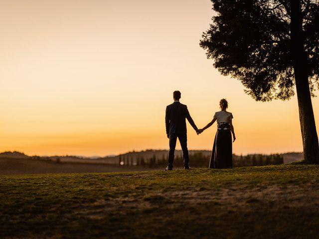 Il matrimonio di Giancarlo e Lorena a Chiusdino, Siena 83