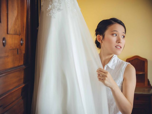 Il matrimonio di Yiwei e Yiwei a Eupilio, Como 14