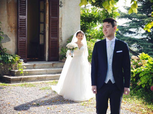Il matrimonio di Yiwei e Yiwei a Eupilio, Como 21