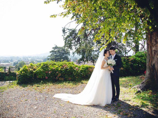 Il matrimonio di Yiwei e Yiwei a Eupilio, Como 22