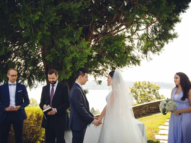 Il matrimonio di Yiwei e Yiwei a Eupilio, Como 26