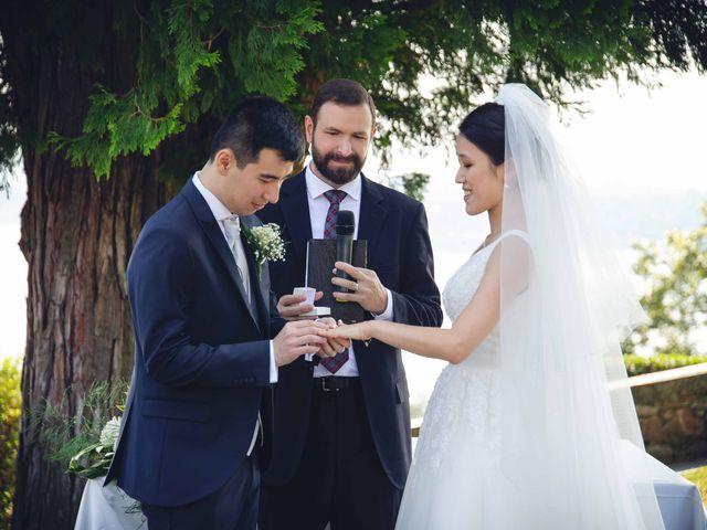 Il matrimonio di Yiwei e Yiwei a Eupilio, Como 27
