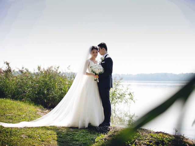 Il matrimonio di Yiwei e Yiwei a Eupilio, Como 36