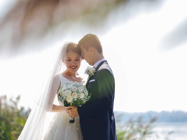 Il matrimonio di Yiwei e Yiwei a Eupilio, Como 40