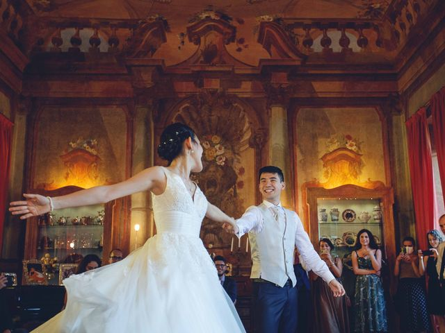 Il matrimonio di Yiwei e Yiwei a Eupilio, Como 48
