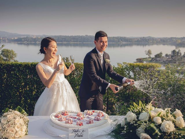 Il matrimonio di Yiwei e Yiwei a Eupilio, Como 2