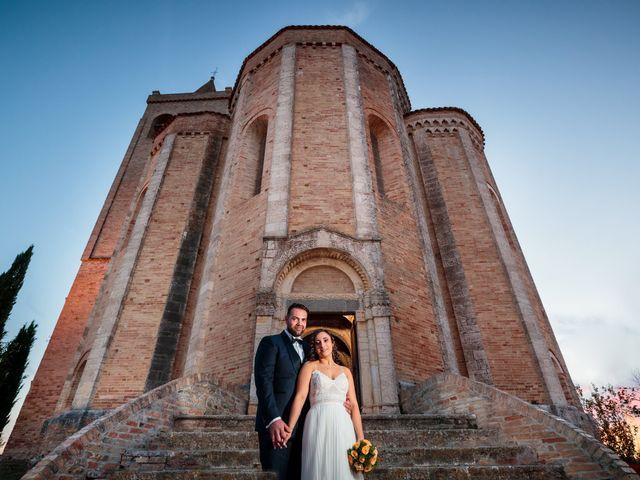 Il matrimonio di Elizabeth e Davide a Offida, Ascoli Piceno 20