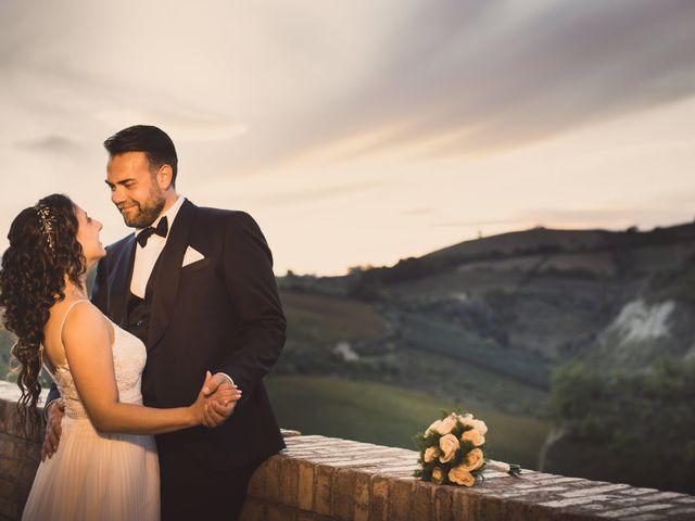 Il matrimonio di Elizabeth e Davide a Offida, Ascoli Piceno 22