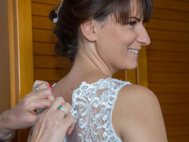 Il matrimonio di Lucky e Giulia a Scaldasole, Pavia 4
