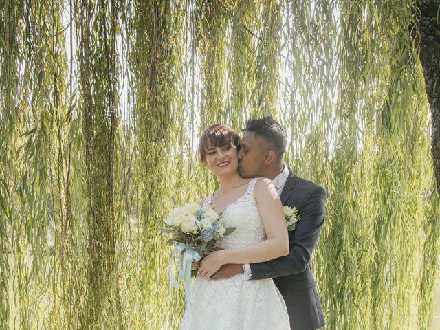 Il matrimonio di Lucky e Giulia a Scaldasole, Pavia 21