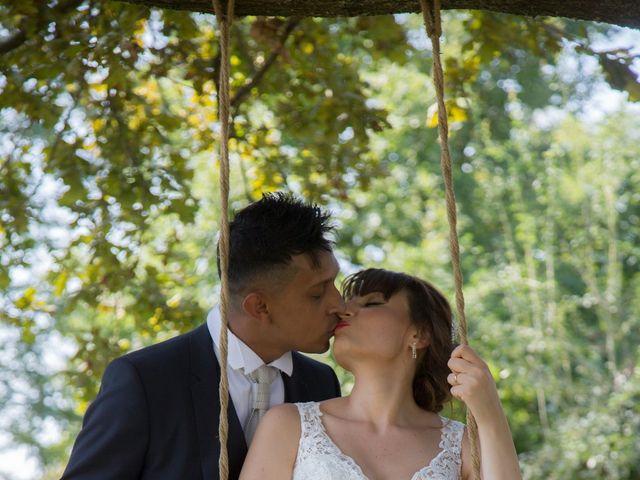 Il matrimonio di Lucky e Giulia a Scaldasole, Pavia 22