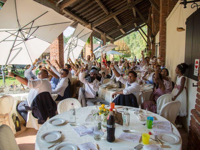 Il matrimonio di Lucky e Giulia a Scaldasole, Pavia 28