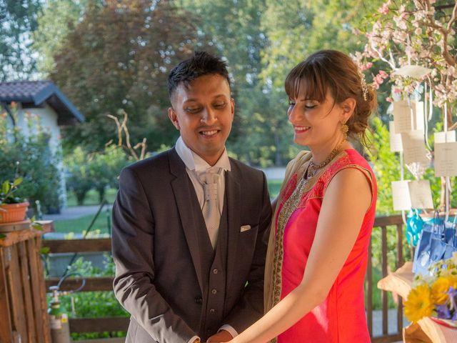 Il matrimonio di Lucky e Giulia a Scaldasole, Pavia 31