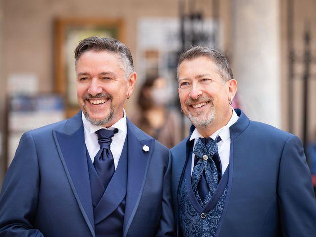 Il matrimonio di Lucio e Francesco a Monreale, Palermo 11
