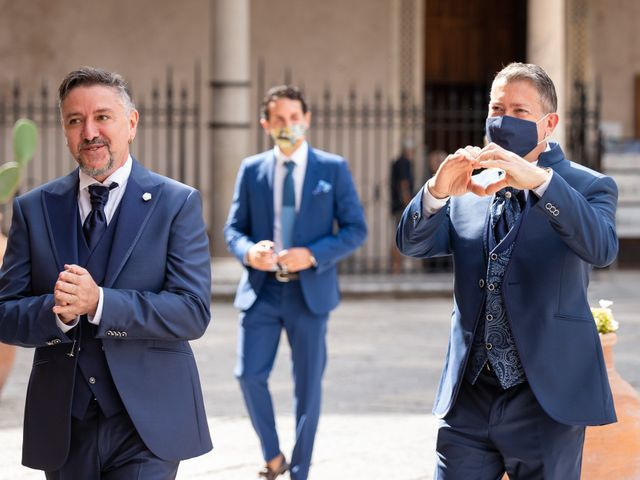 Il matrimonio di Lucio e Francesco a Monreale, Palermo 12