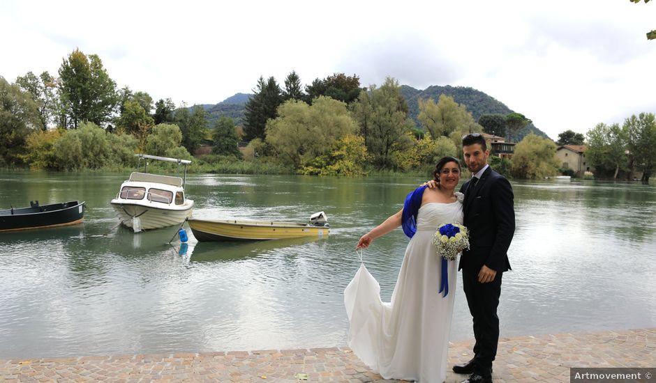 Il matrimonio di Stefano e Stella a Peschiera del Garda, Verona