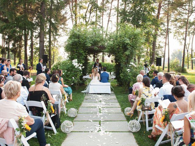 Il matrimonio di Andrea e Alessandra a Golasecca, Varese 16
