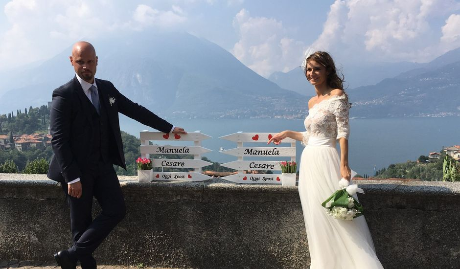 Il matrimonio di Cesare e Manuela a Varenna, Lecco