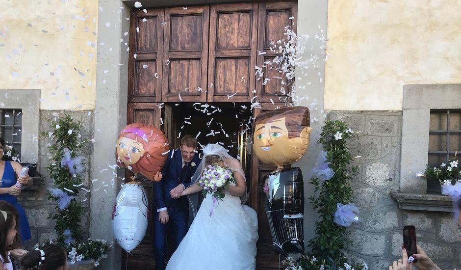 Il matrimonio di Jeremy e Laura a Montefiascone, Viterbo
