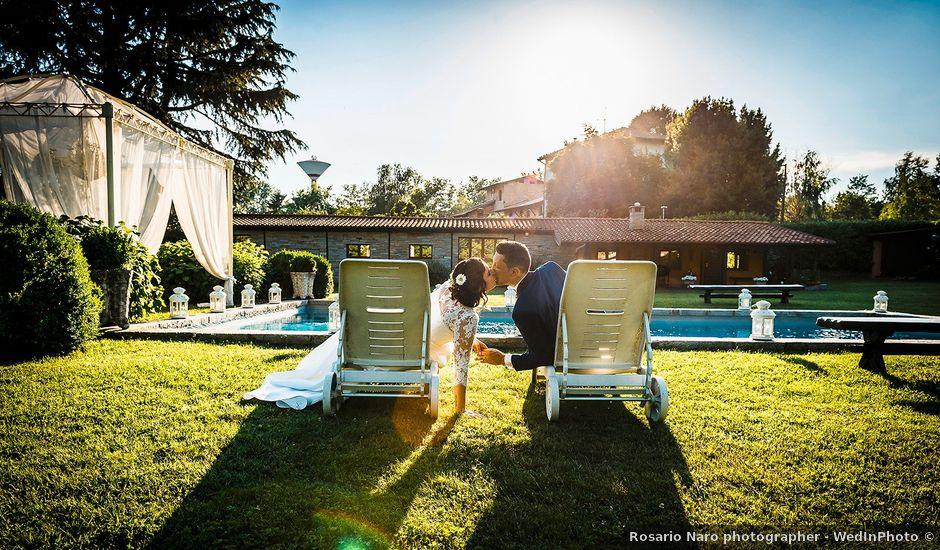 Il matrimonio di Matteo e Alessandra a Fino Mornasco, Como