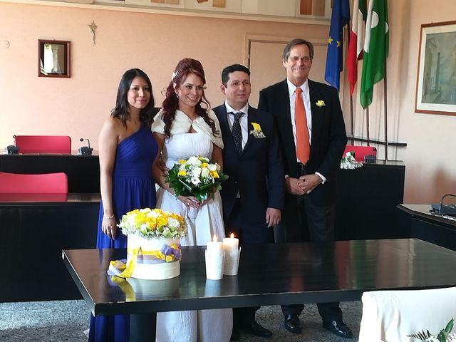 Il matrimonio di Yudy e Ricky a Cornate d'Adda, Monza e Brianza 6