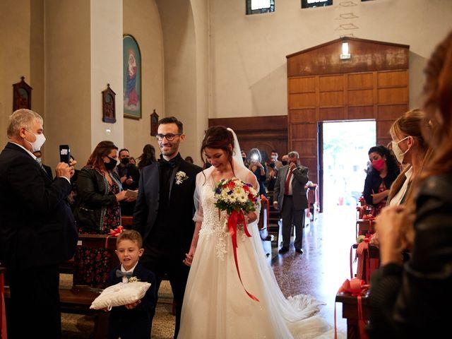 Il matrimonio di Giordano e Federica a Maser, Treviso 18
