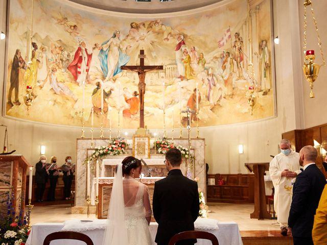 Il matrimonio di Giordano e Federica a Maser, Treviso 19