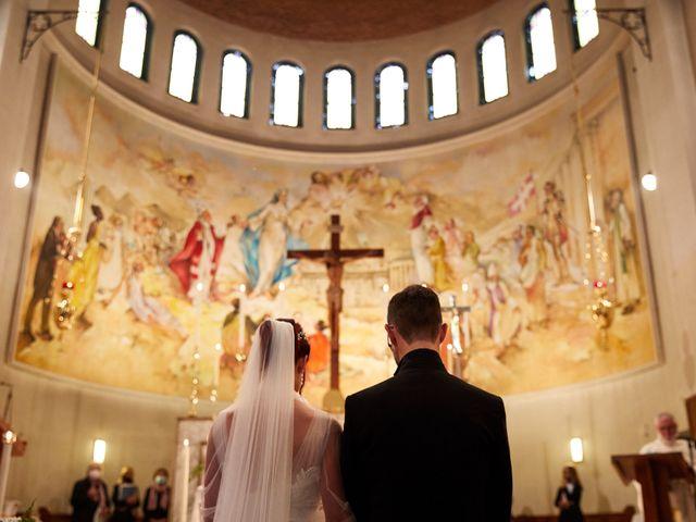 Il matrimonio di Giordano e Federica a Maser, Treviso 25