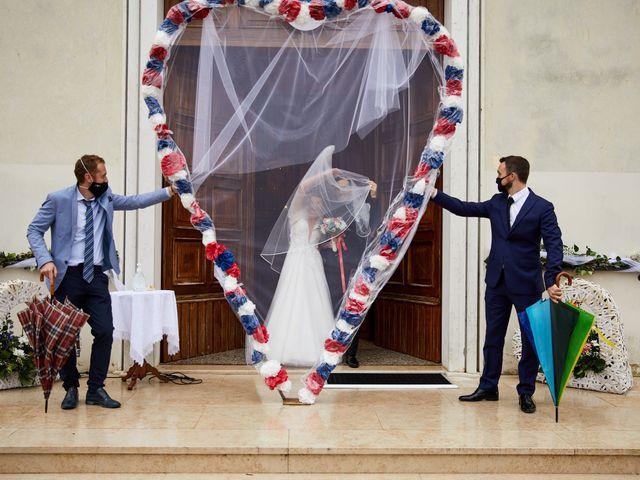 Il matrimonio di Giordano e Federica a Maser, Treviso 28
