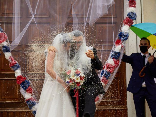 Il matrimonio di Giordano e Federica a Maser, Treviso 29