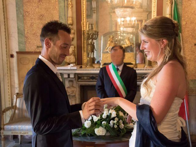 Il matrimonio di Francesco e Emanuela a Dongo, Como 31