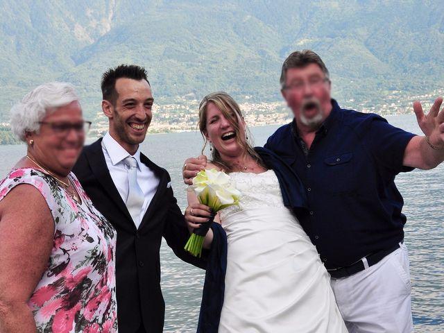 Il matrimonio di Francesco e Emanuela a Dongo, Como 51