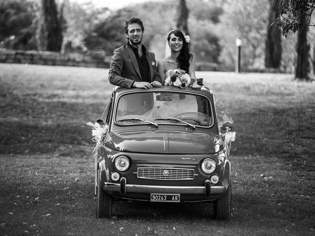 Il matrimonio di Marco e Ilaria a Cavriglia, Arezzo 29