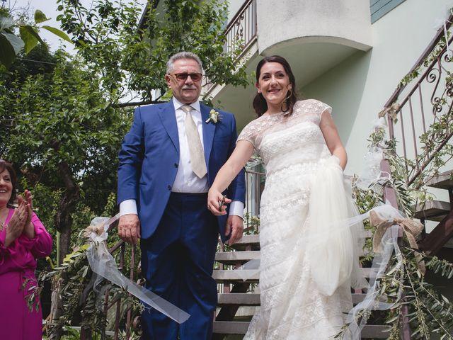 Il matrimonio di Andrea e SIlvia a Mondaino, Rimini 11