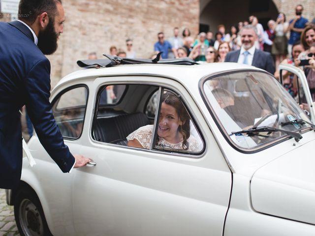 Il matrimonio di Andrea e SIlvia a Mondaino, Rimini 13