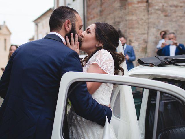 Il matrimonio di Andrea e SIlvia a Mondaino, Rimini 14