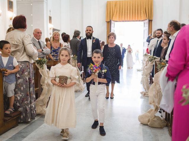 Il matrimonio di Andrea e SIlvia a Mondaino, Rimini 15