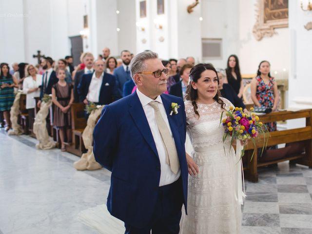 Il matrimonio di Andrea e SIlvia a Mondaino, Rimini 16