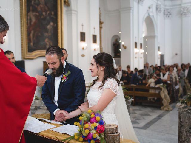 Il matrimonio di Andrea e SIlvia a Mondaino, Rimini 18
