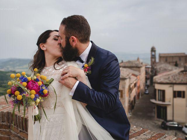 Il matrimonio di Andrea e SIlvia a Mondaino, Rimini 23