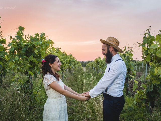 Il matrimonio di Andrea e SIlvia a Mondaino, Rimini 1