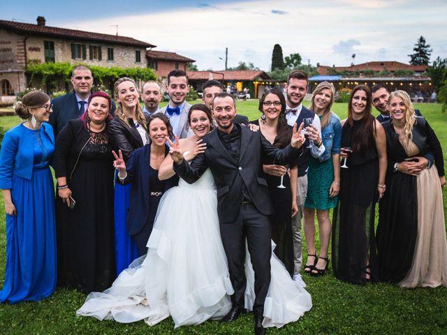 Il matrimonio di Diego e Giulia a Seravezza, Lucca 82