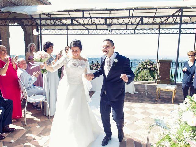 Il matrimonio di Riccardo e Maria a Rocca di Papa, Roma 20