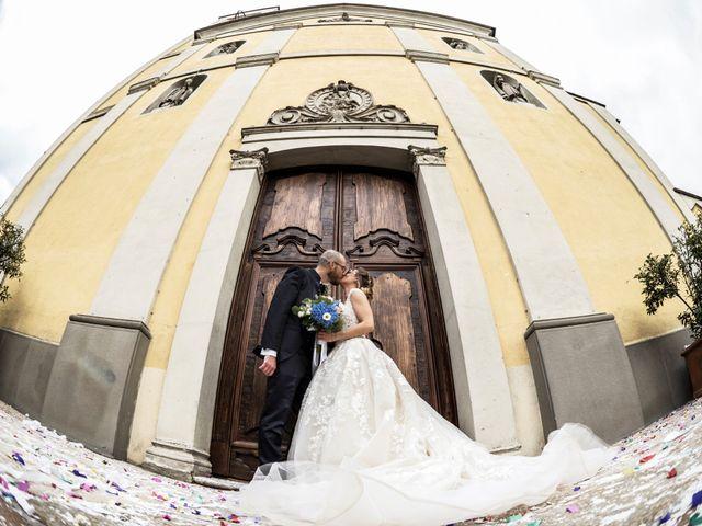 Il matrimonio di Fabio e Micaela a Truccazzano, Milano 41