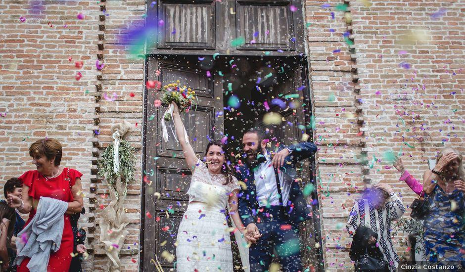 Il matrimonio di Andrea e SIlvia a Mondaino, Rimini