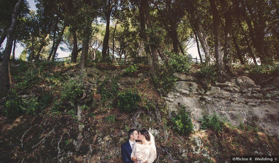 Il matrimonio di Riccardo e Maria a Rocca di Papa, Roma