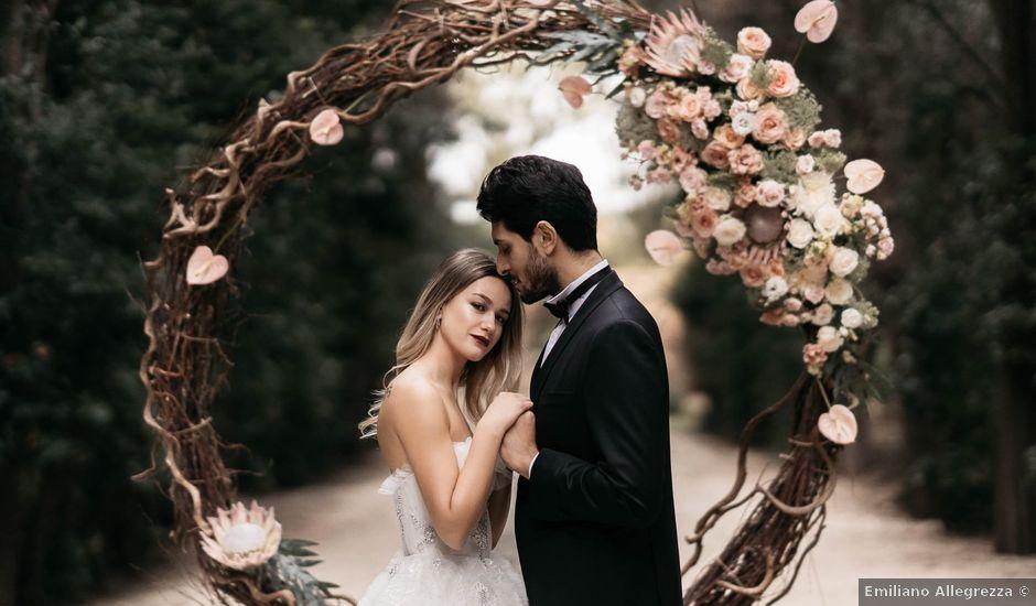 Il matrimonio di Flavia e Vincenzo a Roma, Roma
