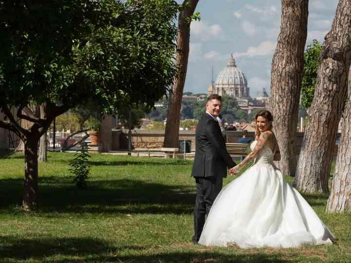 le nozze di Valentina e Emilio